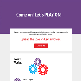 Play On Game Responsive Website Design and Development  Icon